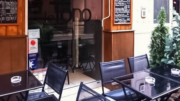 restaurant le tono lyon. Black Bedroom Furniture Sets. Home Design Ideas